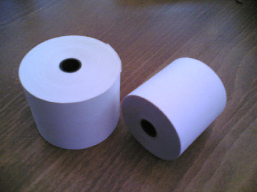 44 x 70 Thermal Till Roll or Cash Register Rolls