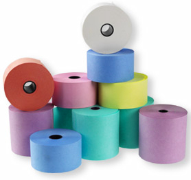 76 x 76 Wet Strength Laundry and Dry Cleaning Ticket Rolls