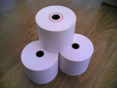 80 x 80 Thermal Till Roll or Cash Register Rolls