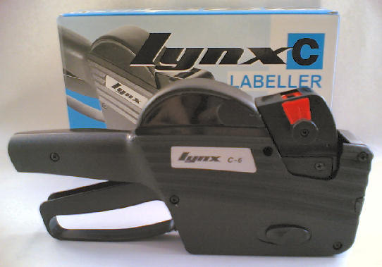 Price Guns - How to load Price Labels in a Lynx Gun